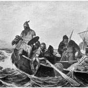 Викинги плывут в Биармию