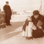 Л.Н.Жеребцов А.К.Микушев в экспедиции