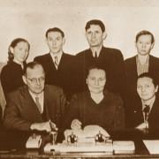 Языковеды Коми филиала АН СССР. 1950е гг
