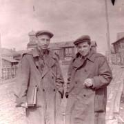 Чисталев П.И. Микушев А.К. Экспедиция. Ижма. Июнь 1960 г. МИПКК