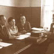 Я.Н.Безносиков с филологами 1960е гг