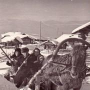 Тимин В.В. Микушев А.К. Экспедиция. Усть-Вачерга. Февраль 1966 г.МИПКК