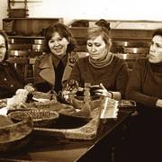 Грибова Л.С. Фадеева И.Е. Кольчурина Т.С. Климова Г.Н. 1970е