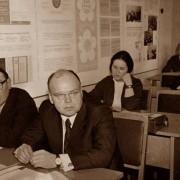 В центре В.И.Мартынов В.М.Кудряшова