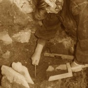 Э.А.Савельева в экспедиции
