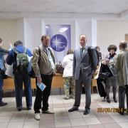 И.Л.Жеребцов и А.Е.Загребин на конференции