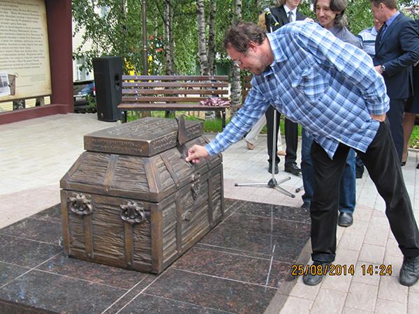 В столице Коми открыли купеческий сундук