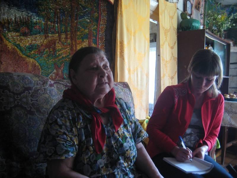 с. Н. Воч. Беседа с Кочановой К.А.