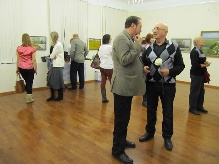 Выставка живописных работ Владимира Ермолина