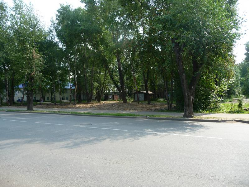Место дома №57. 2014 г.