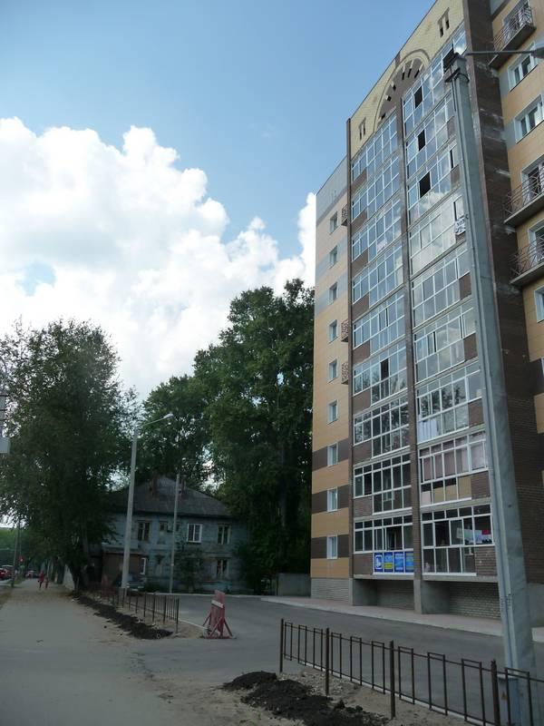 Новый дом №60 и дом №62.2014 г.