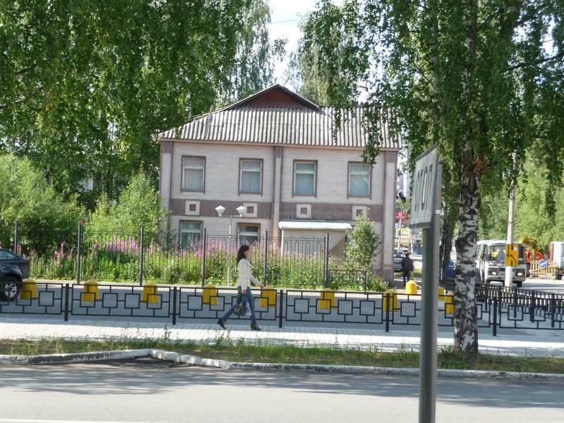Первомайская №80. Перед ним стоял дом №82.