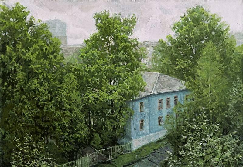 Ермолин В.Р. Зеленый город Сыктывкар (Орджоникидзе 31)