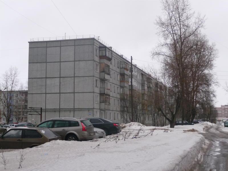 Нагорный проезд от Октябрьского пр-та. Дом №116