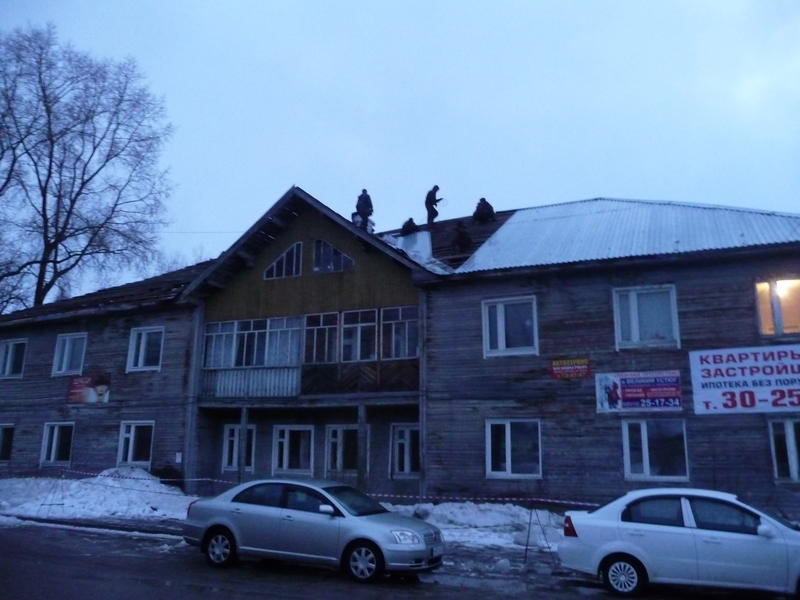 На крыше Юхнина 18