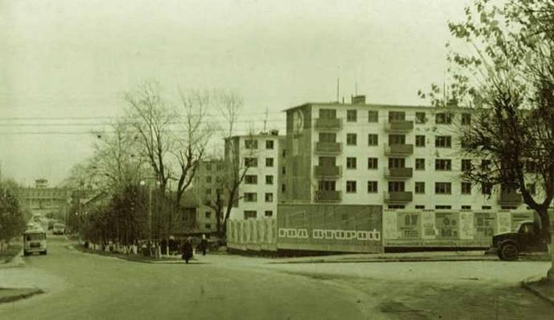 Советская-Куратова. 1960-е.