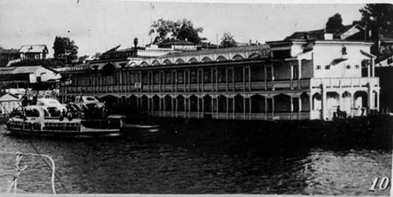 Речной вокзал. 1960 г.