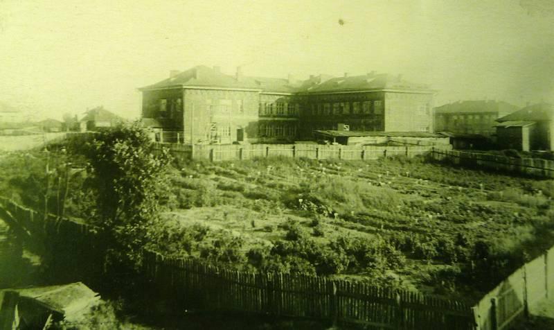 Школа №12. Вид со двора