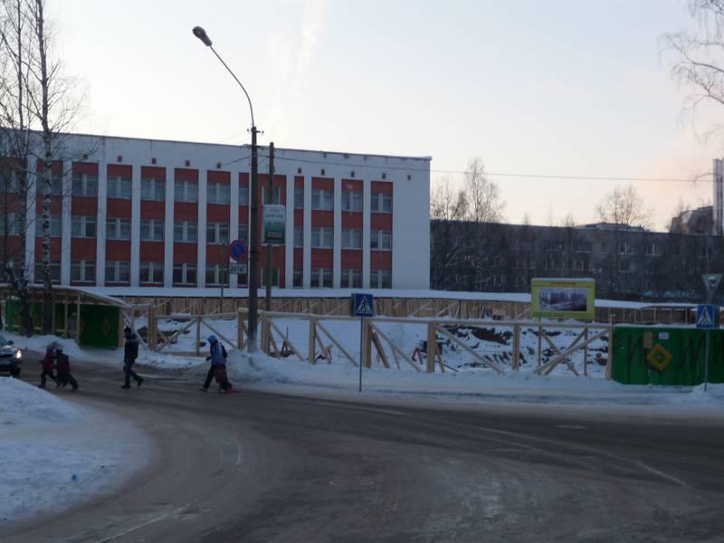 Место дома №30. 2012 г.