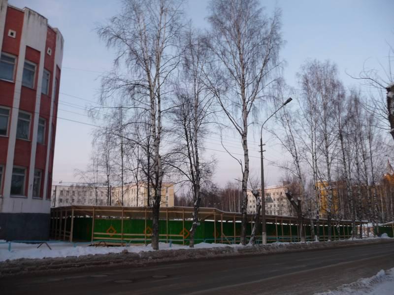Стройка не месте, где был дом №30.2012 г.