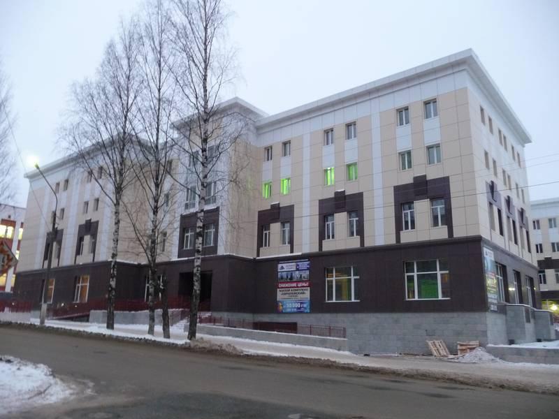 Здание на месте деревянного дома №30.2014 г.