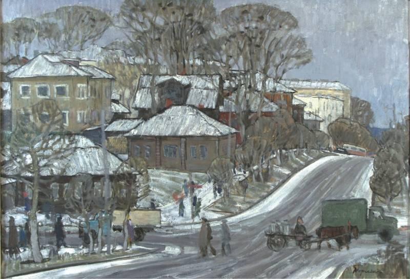 Торлопов С.А. Ул Куратова в Сыктывкаре_1967 г.