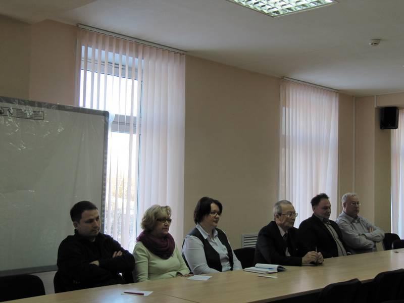Заседание исторических подразделений