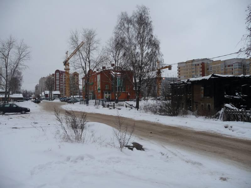 Первомайская от Красных партизан к Крутой.2010 г.