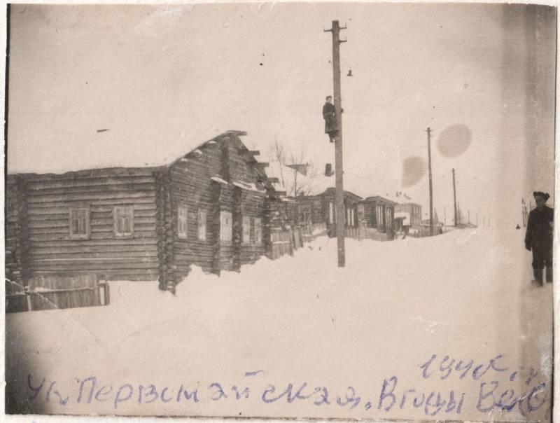 Первомайская от Красных партизан к Орджоникидзе.Нечетная сторона. напротив дома №30