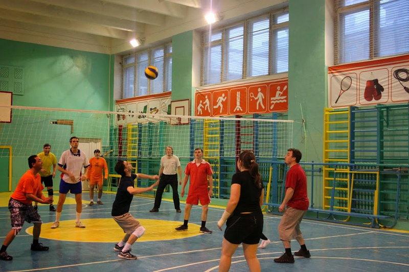 Первенство Коми научного центра по волейболу