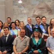 Вручение дипломов выпускникам Института истории и права СГУ
