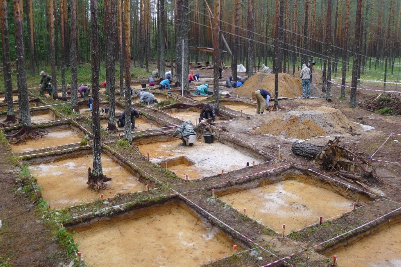 В Коми археологи раскапывают могильник, оставленный переселенцами 1500 лет назад