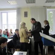 Вручение студенческих билетов в Институте истории и права СГУ