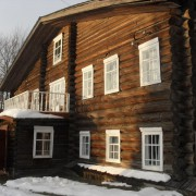 Дом В.Т Чисталева в с. Помоздино