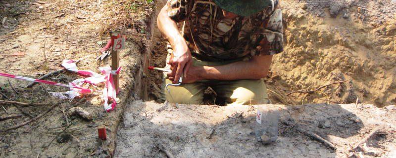 Археологические исследования в Корткеросском районе