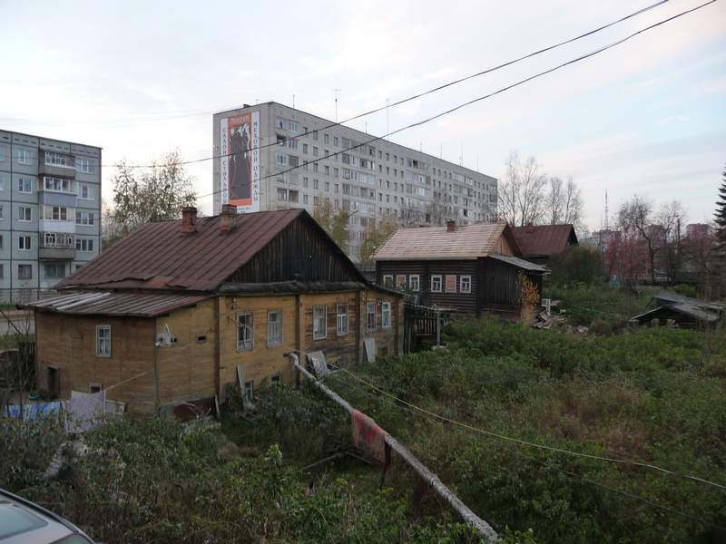К. Маркса 189,187,185, вид со двора