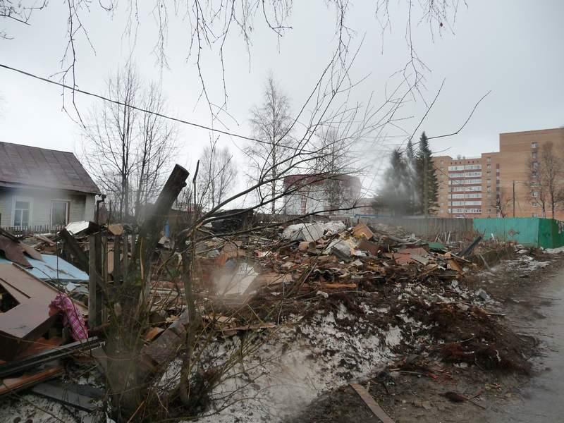 Развалины дома 171