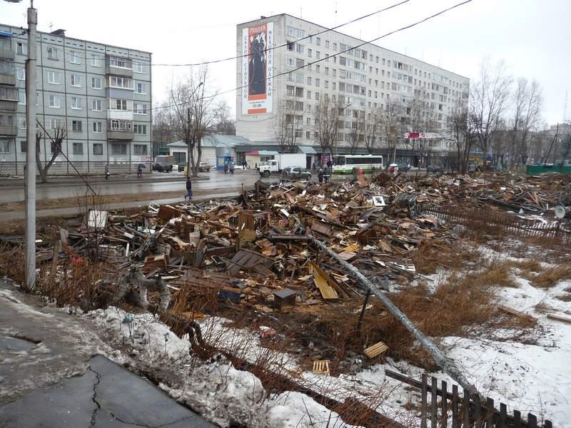 Развалины домов 189 и 187
