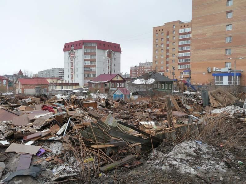 Развалины домов 187 и 189