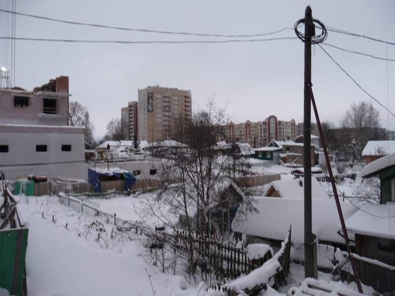 Стройка Петергофа. Двор