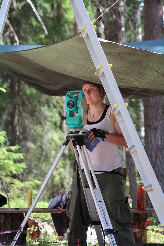 Археологические исследования в Корткеросском районе в июле 2017 года