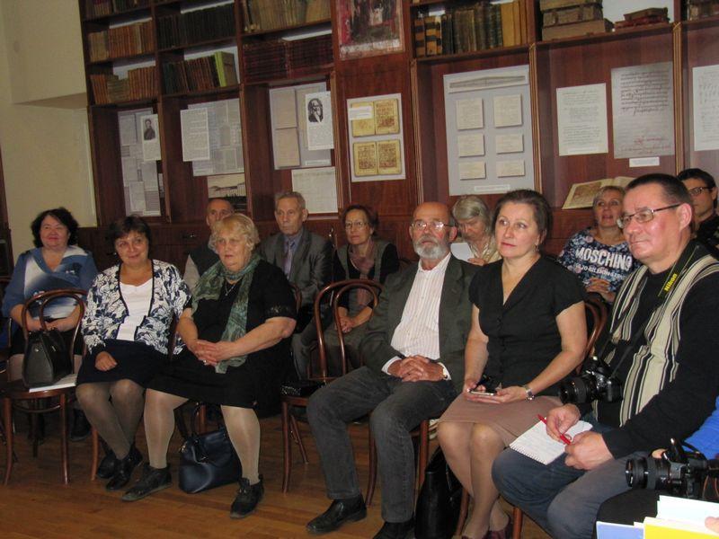 Встреча ученых ИЯЛИ с финским писателем Й. Тоссавайненом
