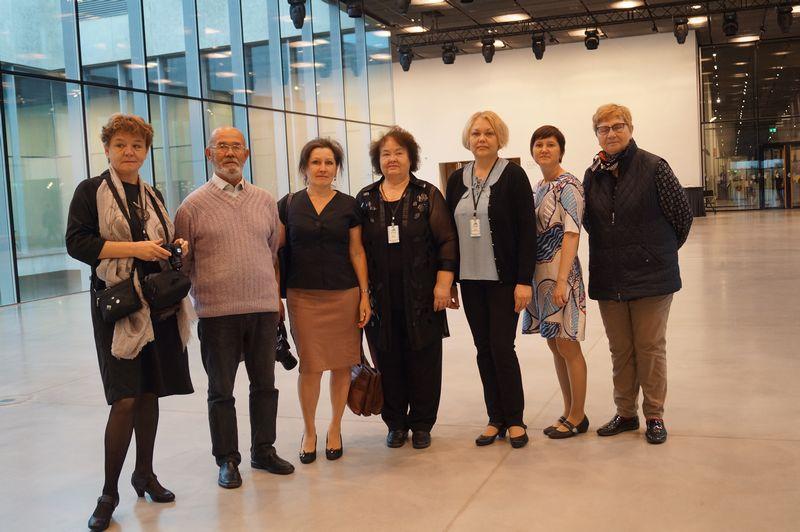 Коми делегация в Тарту