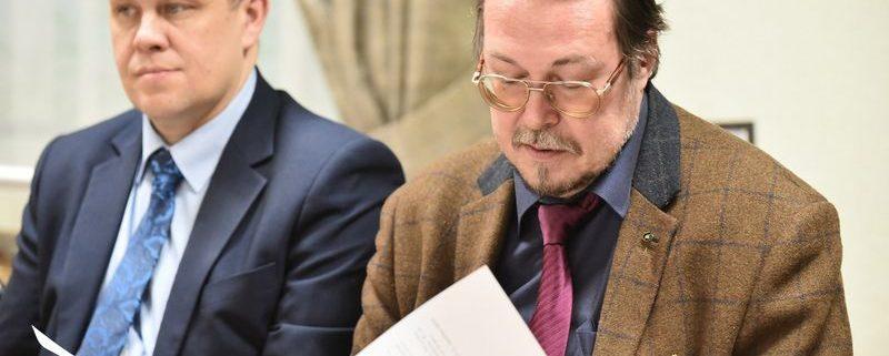 И.Л.Жеребцов принял участие в заседание Попечительского совета Национальной библиотеки РК