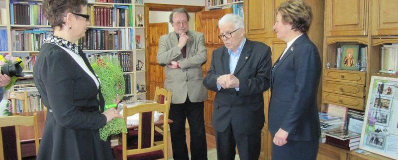 Академика М.П.Рощевского поздравили с юбилеем