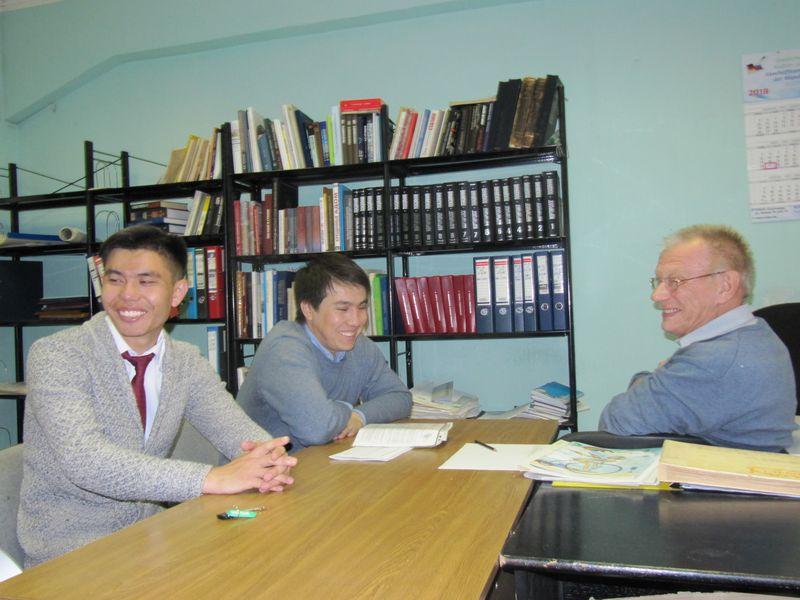 В Сыктывкар на стажировку прибыли докторанты из Астаны
