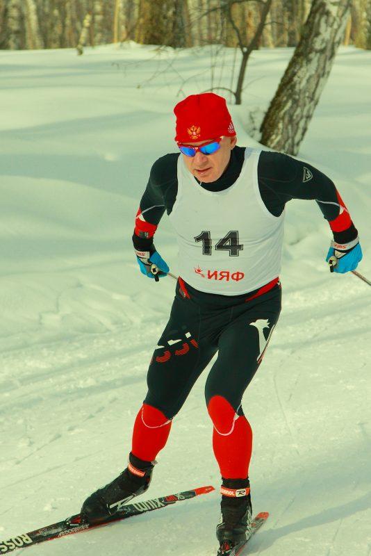 А.В. Ильчуков призер всероссийской лыжной академиады