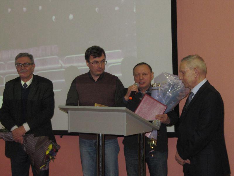 Доктора филологических наук Евгения Игушева поздравили с юбилеем!
