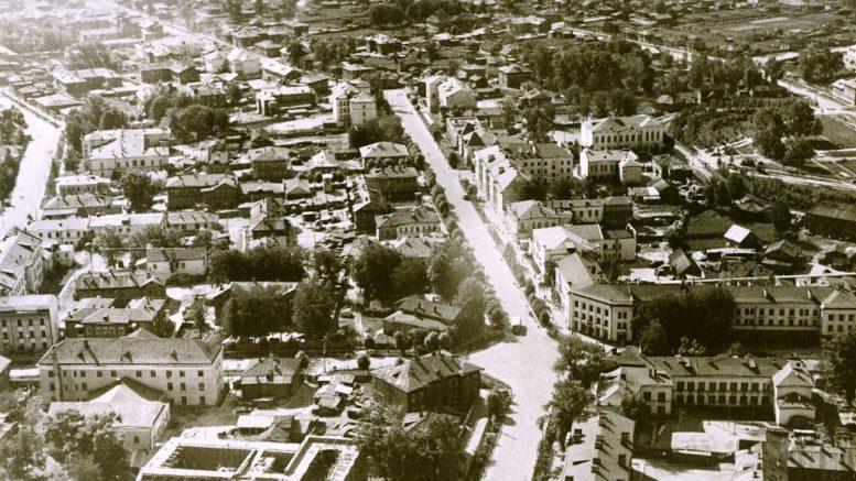 Хрущевская оттепель в столице Коми АССР (Республика)