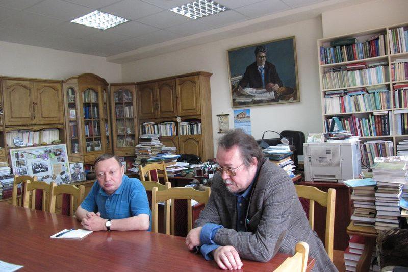 Встреча руководства ИЯЛИ и Национальной библиотеки Республики Коми